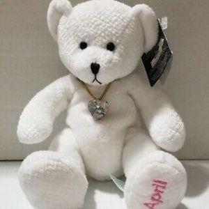 April BIRTHDAY Diamond Russ Bear